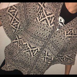 Jackets & Coats - Patterned cardigan